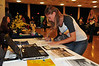 WVU students take part in the WVU Study Abroad fair at the WVU Mountainlair ballrooms downtown campus, September 2011. (WVU Photo/Jake Lambuth)