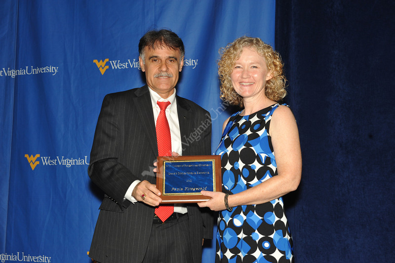 B&E Dean's Excellence Awards, April 2012 (WVU Photo/Todd Latocha)