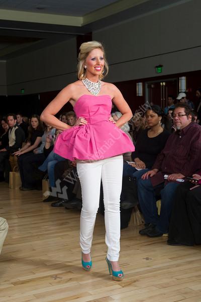WVU Davis College Day Of Design Fashion Show at the Erickson Alumni Center, April 2012 (WVU Photo/Jake Lambuth)