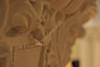WVU Stewart Hall Interiors Mice reliefs on columns 2nd floor. August 2012 (WVU Photo/Brian Persinger)