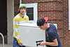 28441 WVU Freshmen students move into their dorms WVU Move In Day Downtown Campus August 2012 (WVU Photo/Todd Latocha)