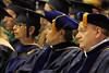 WVU students  faculty and families  take part in the December 2012 Convocation (WVU Photo)