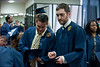 WVU students take part in the  2012 Fall Convocation (WVU Photo/Jake Lambuth)
