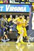 WVU Men's basketball vs Pitt action at the WVU Coliseum , February 2012. (WVU Photo/Greg Ellis)