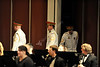 The WVU Wind Symphony performs in concert with the Marine Corps military band at the WVU CAC, February 2012 (WVU Photo/Jake Lambuth