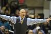 WVU Men's Basketball vs Marquette action, February 2012. (WVU Photo/Brian Persinger)