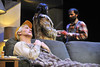 WVU CAC theater students perform in  Buried Child for a photo call, January 2012. (WVU Photo)