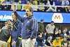 WVU Men's Basketball vs DePaul action  WVU Coliseum, February 2012. (WVU Photo/Greg Ellis)