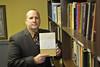 28167 WVU Professor Aaron Gale Associate Professor, Religious Studies poses for a portrait, February 2012. (WVU Photo Brian Persinger)