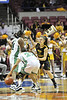 WVU Women's Capital Classic Basketball action vs Marshall at the Charleston Convention Center and Coliseum, January 2012 (WVU Photo/Greg Ellis)
