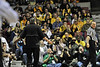 WVU and Marshall fans gather at the Charleston Coliseum & Convention Center for the Capitol Classics Men's basketball game highlighting WVU alumni events in Charleston WV, January 2012. (WVU Photo/Greg Ellis)