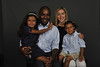 WVU Men's Soccer Coach  Marlon LeBlanc poses with his family for a photo at the WVU OWF studio July 2012. (WVU Photo/Greg Ellis)