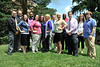 28377 WVU Residence Hall Coordinators RHC and Residence Faculty Leaders RFL pose for photos on the Evansdale campus June 2012 (WVU Photo/Jake Lamburth)