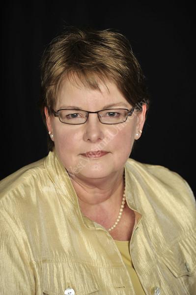 Kaye Widney WVU Financial Aid staff poses for a portrait at the OWF studio, March 2012. (WVU Photo/Greg Ellis)