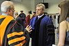 WVU graduates of the Statler College take part in their Commencement at the WVU Coliseum May 2012. (WVU Photo/Greg Ellis)
