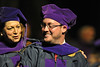 WVU College of Law graduates take part in their commencement at the WVU CAC May 2012. (WVU Photo/Brian Persinger)