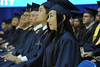 WVU graduates of the WVU College of Business and Economics  take part in their Commencement  at the WVU Coliseum May 2012 (WVU Photo/Greg Ellis)