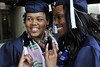WVU graduates of the  Eberly College take part in their Commencement  at the WVU Coliseum  May 2012 (WVU Photo/Greg Ellis)