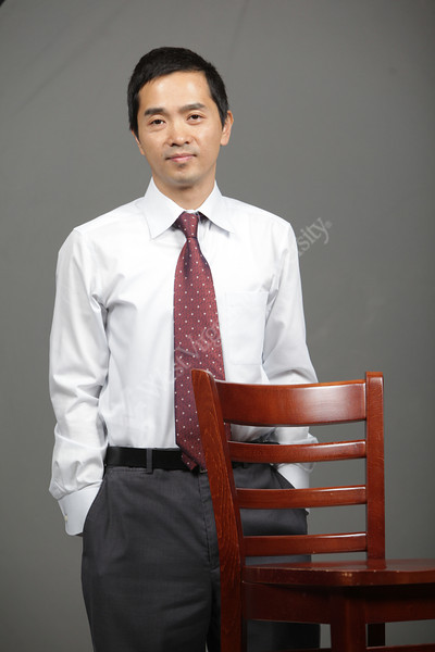 WVU department of Biology professor Shuo Wei poses for a portrait at the OWF studio. May 2012 (WVU Photo/Mark Brown)