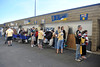 The WVU community comes together for the charity Blue and Gold Mine Sale at Mountaineer Field. May 2012 (WVU Photo/Jake Lambuth)