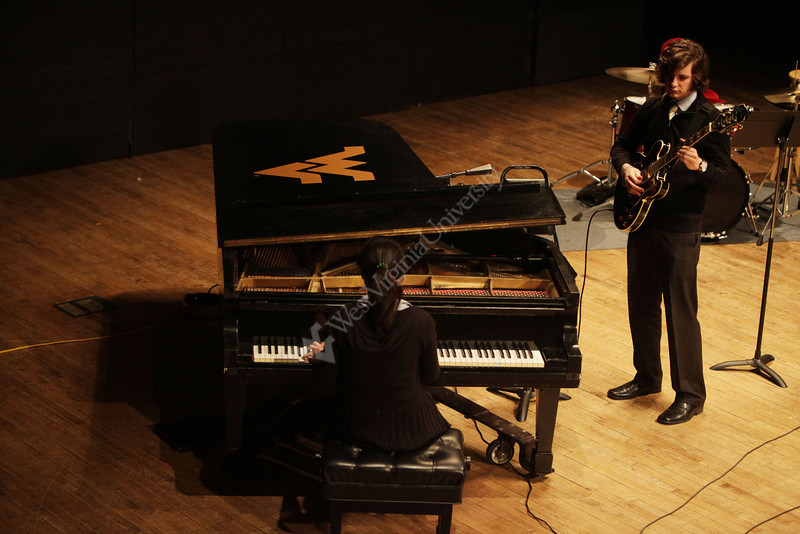 WVU CAC music students perform at  the Falbo Afternoon Jazz concert November 2012 (WVU Photo)