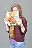 Lindsey Estep poses for a UR Portrait at the OWF Studio November 2012 (WVU Photo/Greg Ellis)