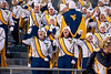 WVU Band  members make Formations on Mountaineer Field November 2012  (WVU Photo/Jake Lambuth)