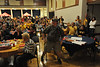 WVU students and community gather for the WVU Texas Watch Party October 2012 (WVU Photo/Allison Toffle)