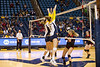 28581 WVU Volleyball  Texas Tech October 2012 (WVU Photo/Jake Lambuth)