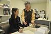 Bryophyte  Lichen Herbarium research  October 2012 (WVU Photo/Brian Persinger)