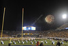 WVU Fireworks at Halftime WVU vs Kansas State October 2012 (WVU Photo/Brian Persinger)