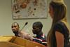 WVU Student Athletes Speak Out October 2012 (WVU Photo/Greg Ellis)