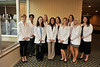 The HR&E Speech Pathology White Coat ceremony takes place recognizing graduates September 2012 (WVU Photo/Jake Lambuth)