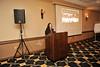 The HR&E Speech Pathology White Coat ceremony takes place recognizing graduates September 2012 (WVU Photo/Jake Lambuth)