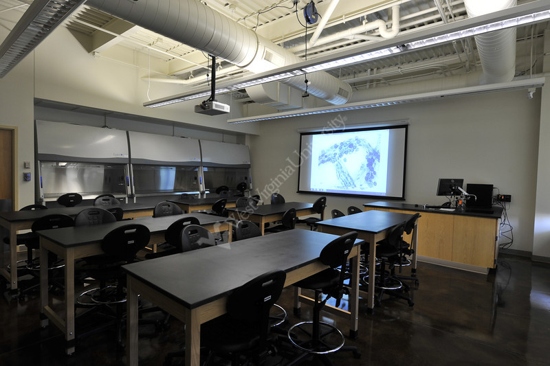 WVU Davis College Greenhouse interior, exterior and classrooms September 2012 (WVU Photo/Brian Persinger)