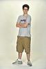 WVVU student Chris Hickey poses for a portrait at the OWF studio September 2012  (WVU Photo/Greg Ellis)