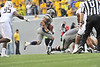 WVU vs Maryland Football action at Mountaineer Field 2012 (WVU Photo/Greg Ellis)