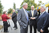 WVU leadership deans, faculty,students and the community gather for the AERB Statler College Groundbreaking October 2012 (WVU Photo/Greg Ellis)