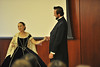 The WVU Constitution Election and Literacy program presents Michael Krebs portraying; Abraham Lincoln at the Erickson Alumni Center September 2012. (WVU Photo/Greg Ellis)