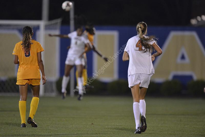 WVU Women's Soccer vs. Texas 2013