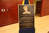 Pat Fehl gift announcement at Alumni Center