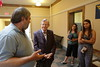 WVU President Gordon Gee goes on one of his Summer Tour trips to Summers and Monroe Counties. Photo by Scott Lituchy / West Virginia University