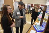 "The College of Education and Human Resources held their ""Celebration of Scholarship"" event with a research poster fair, Ed Talks and keynote speaker Dr. Sara Goldrick-Rab at the Erickson Alumni Center April 4th, 2017. Photo Brian Persinger"