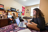 Students on the Potomoc State Campus are photographed in residence halls and class for marketing materials April 25th, 2017.  Photo Brian Persinger