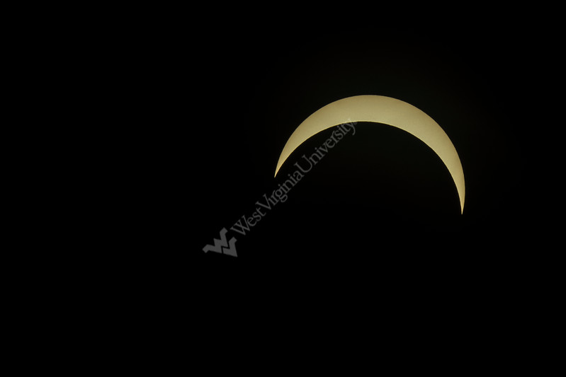 Solar Eclipse from Morgantown, Wv taken during highest partial coverage August 21st, 2017.  Photo Brian Persinger