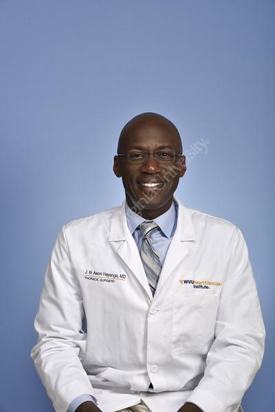 Portrait Dr.Jeremy Hayanga Department of Cardiovascular and Thoracic SurgeryHSC studio August 29, 2017. Photo Greg Ellis