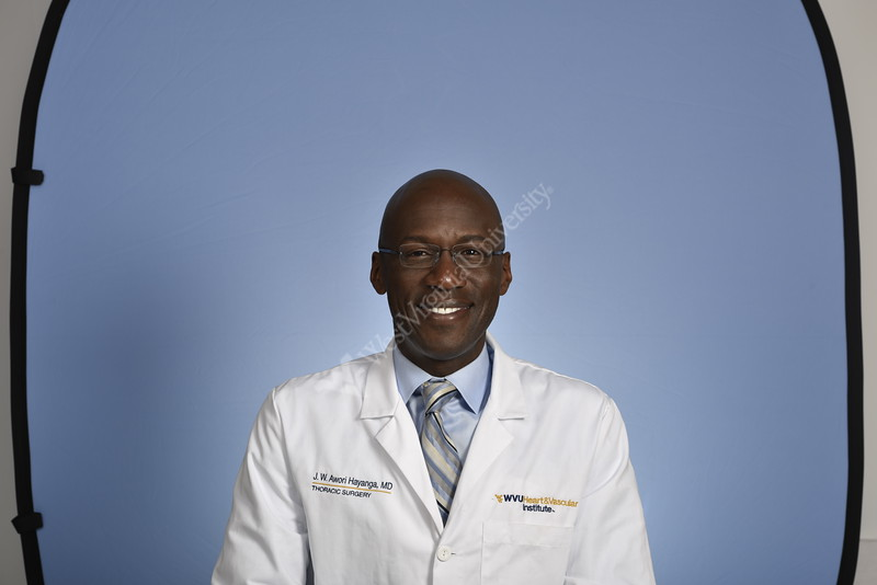 Portrait Dr.Jeremy Hayanga Department of Cardiovascular and Thoracic SurgeryHSC studio August 29, 2017. Photo Greg Ellis