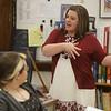 Toni Polling teaches at Fairmont Senior High School.<br /> 33766 WVU MAG Toni Poling<br /> WVU Photo/ Raymond Thompson<br /> WVU Magazine