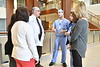 Members of the Anesthesia Unit WVU HSC pose for a picture at Ruby Hospital for their award winning research into tonsillectomy recovery times December 5,  2017. Photo Greg Ellis