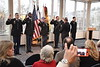 The ARMY ROTC Commissioning ceremony takes place in the Mountaineer Room of the Mountainlair December 14th, 2017.  Photo Brian Persinger